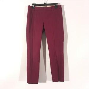 J. Crew Burgundy Purple Minnie Pants 4
